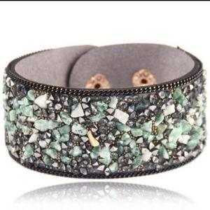 Natural Stone Studded Bracelets